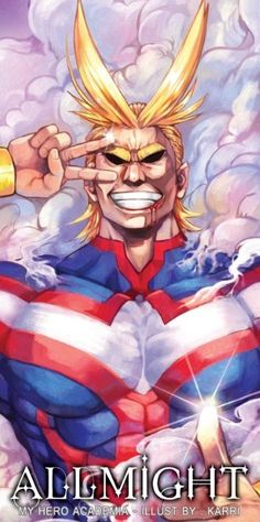 Boku no Hero Academia || All Might
