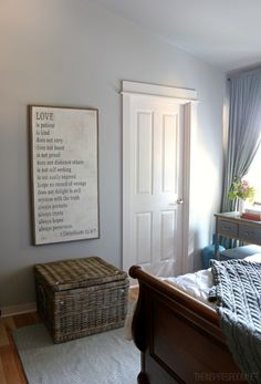 Master bedroom print