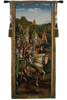 Knights of Christ European Wall Tapestry