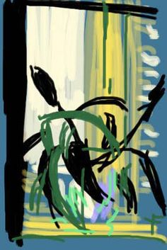 David Hockney (1937) is een Engels kunstenaar en een van de bekendste vertegenwoordigers van de popart. Veelvoorkomende thema's in zijn werk zijn zwembaden, portretten en landschappen, uitingen van homoseksuele liefde en stillevens. Hockneys werk heeft grote invloed gehad op het figuratieve realisme van de jaren zestig.