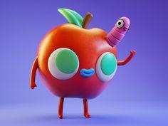 Apple dribbble