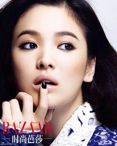 Song Hye Kyo - Harper's Bazaar Magazine October Issue '13