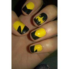 bat man nails!!