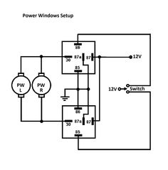 5 pin power window switch wiring diagram \u2013 wallmural co 12 vwiring power window motors using relays