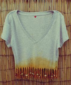 Beaded Crop Top