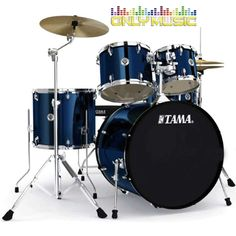 Bateria Acústica Tama Swingstar 5 Pzs. Azul