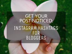 These are the hashtags to be used by bloggers to boost their posts on Instagram. It worked!! #blogging #instagram