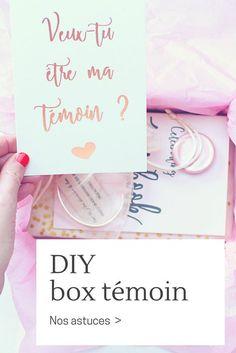 3 astuces pour réaliser une box de demande en témoin de mariage #box #témoin #annonce #demande #mariage #cadeau Photo by @Benoit Foujols