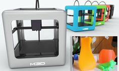 $249 Created by Maryland-based firm, M3D, The Micro 3D comes ready to use out of the box, so there's no setup or instructions.