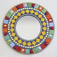 resultado de imagen para diseos de mosaicos en espejos