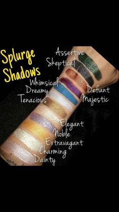 Splurge eye shadow cream I love this stuff, I have most of the colors. Order yours@ www.youniquegoddess.com