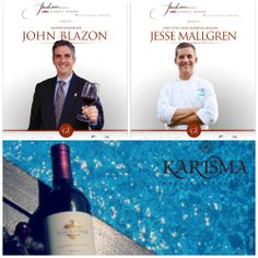 Master Sommelier John Blazon and Chef Jesse Mallgreen our special guest on Jackson Family Wines Culinary Series by Karisma  month of December. @Kendall-Jackson Wines @eldoradoresorts @azulhotels  #karismahotels #eldoradoresorts #azulhotels