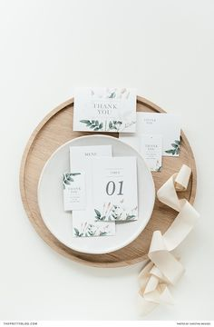 The perfect elegant wedding stationary that is easily printed. Table numbers, menus and thank you cards   Styling: AnnaH   Photography: Christine Meintjies  