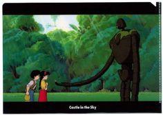 LAPUTA : Castle in the Sky Princess Sheeta & Pazu A5 Clear File 01 Studio Ghibli