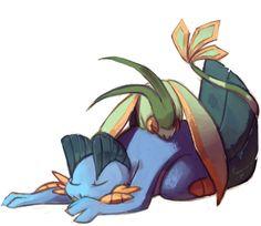 swampert y flygon Mudkip, Pokemon Special, My Pokemon, Catch Em All, Emerson, Wonders Of The World, Monsters, Om, Fanart