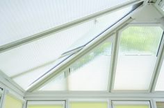 Conservatory roof blinds perfect for keeping the hot summer sun at bay