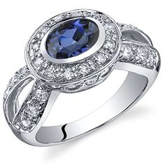 Revoni Majestic Brilliance 1.00 carats Sapphire Ring in Sterling Silver Size R, Revoni http://www.amazon.co.uk/dp/B005H0NVSG/ref=cm_sw_r_pi_dp_u-okvb173B6EY