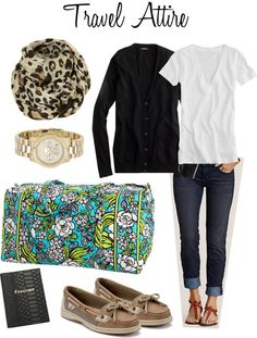 """Spring Break Flight Outfit"" by leopard-spot on Polyvore"
