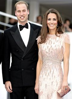 Kate Middleton and Prince William...the picture of happiness and great style