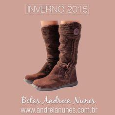 148888313 Estamos oficialmente no Inverno, momento perfeito para você adquirir sua bota  Andreia Nunes e garantir
