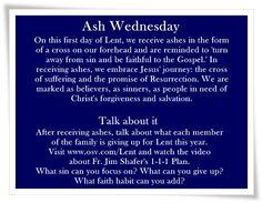 A Year for Faith: Blessed Ash Wednesday Catholic Catechism, Catholic Kids, Ash Wednesday, Blessed Wednesday, What Is Lent, 40 Days Of Lent, Lent Prayers, Lenten Season, Catholic Quotes