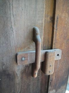 168 Best Wooden latches / Hinges images | Wooden hinges ...