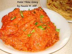 Malai Tikka Gravy | Fauzias Kitchen Fun