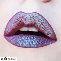 Get the look: with LOVEGOOD #Repost @1500px ・・・ mermaid lips I absolute love the way 'solstice' eyeshadow from urban decay looks on top of 'lovegood' from @lasplashcosmetics! ✨