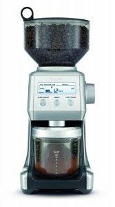 Breville BCG800XL Smart Grinder:  http://coffeegrindermachine.org/breville-bcg800xl-smart-grinder-review