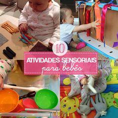 As melhores atividades de descoberta sensorial