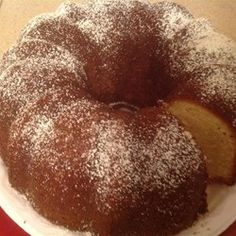 No Fail Pound Cake. Starts with yellow cake mix or butter recipe yellow cake mix. 4.5 stars and 128 reviews on Allrecipes.com