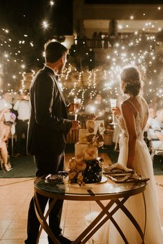 Green, gold, & blush Cyprus destination wedding with a tunnel of lights - 100 Layer Cake Our Wedding, Destination Wedding, Dream Wedding, Light Wedding, Wedding Ideas, Romantic Wedding Receptions, Elegant Wedding Cakes, Wedding Cake Alternatives, Wedding Cake Flavors