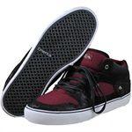 Emerica Mens HSU Black skateboarding shoes   6102000031551