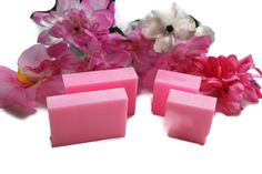 Items similar to Japanese Cherry Blossom Soap -Handmade Shea Butter Soap- Valentines Day Gift for Girls -Strawberry Soap - Rustic Soap Favors- Christmas Gift on Etsy Great Valentines Day Gifts, Christmas Gifts For Friends, Shea Butter Soap, Soap Favors, Organic Bar Soap, Handmade Soaps, Gifts For Girls, Stocking Stuffers, Cherry Blossom