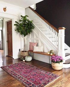 50 Best Rug Living Room Farmhouse Decor Ideas 30 – Home Design Home Design, Design Ideas, Wall Design, Design Hotel, Design Design, Fabric Design, Decoration Hall, Basket Decoration, Black Walls