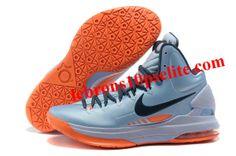 best service cd2ee a0a3d Nike Zoom KD V Ice Blue Orange Air Jordan Shoes, New Jordans Shoes,