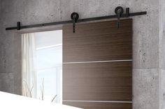 Schuifdeur systeem zwart metaal Decor, Outdoor Decor, Bathroom Medicine Cabinet, Garage Doors, Home Decor, Bathroom, Doors