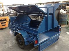Looking for quality custom tradesman trailers for your business? We design and build trailers here in Australia. Super Trailer, Work Trailer, Trailer Build, Utility Trailer, Teardrop Camper Trailer, Off Road Camper Trailer, Camper Trailers, Campers, 1958 Chevy Truck