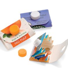 KIDS CRAFTS RECYCLING Carton Wallet Recycle a milk or orange juice carton into a clever carrying case for change, trading cards, and more. Kids Crafts, Crafts To Do, Paper Crafts, Family Crafts, Wooden Crafts, Diy Projects To Try, Craft Projects, Craft Ideas, Diy Ideas