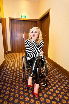 So chic! >>> See it. Believe it. Do it. Watch thousands of spinal cord injury videos at SPINALpedia.com