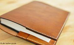 Capa Personalizada em Couro para agendas ou cadernos (MA002)