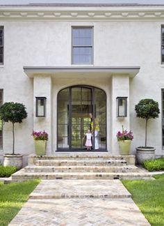 Steel doors in Austin. Architect Jay Corder.