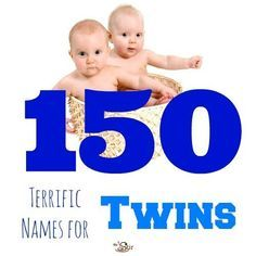 So many baby names, there's sure to be a winner in here ... or two! Boy/boy twin, girl/boy twin, and girl/girl twin names all here! http://thestir.cafemom.com/pregnancy/137750/150_most_popular_names_for?utm_medium=sm&utm_source=pinterest&utm_content=thestir&newsletter