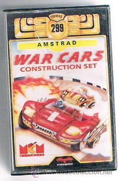 AMSTRAD WAR CARS