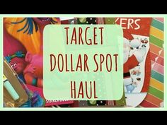 It's Day 7 of the #12DaysofPlanmas! Today I share a haul from the Target Dollar Spot with all of you. I haven't picked up too many planner supplies lately, b...