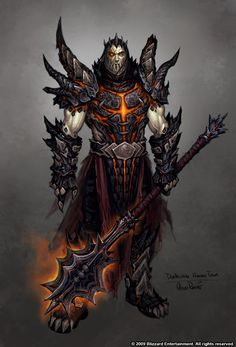 Deathwing: Human form. by *Arsenal21 on deviantART