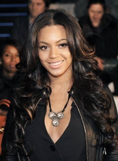 Dark hair Beyonce