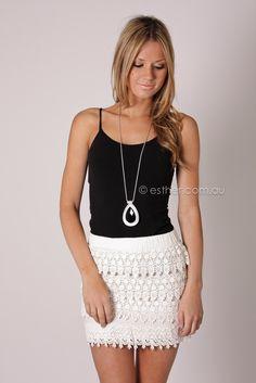 f7c08ddbd8f5 love the skirrrrt...lily rose lace skirt - white White Lace Skirt