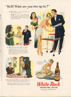 White Rock Beverages | that white rock hussy white rock beverages 1946 these conversations ...