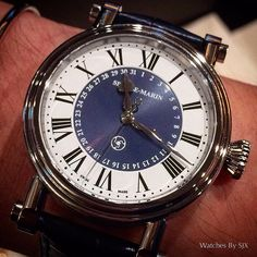 The Speake Marin Serpent Calendar, an accessible entry into respectable independent watchmaking. #ahci #watchesbysjx